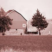 Iowa Landscape Poster