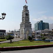 Iquique Chile Plaza Poster