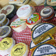 Ireland Cheese Vendor Poster