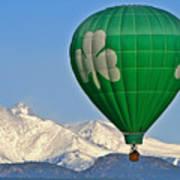 Irish Balloon Poster