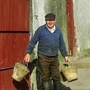 Irish Farmer Poster