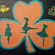 Irish Step Dancers Poster