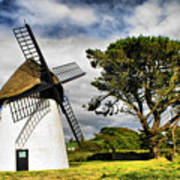 Irish Windmill Poster