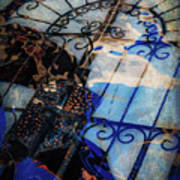 Iron Gate Abstract Poster