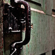 Iron Ic Door Handle Poster