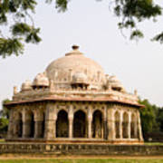 Isa Khan Tomb Burial Sites Poster