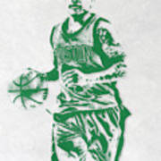 Isaiah Thomas Boston Celtics Pixel Art Poster