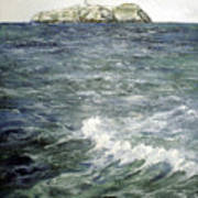 Isla De Mouro-santander Poster