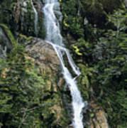 Isla Hoste Waterfall Poster