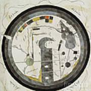 Islamic World Map, 10th Century Poster
