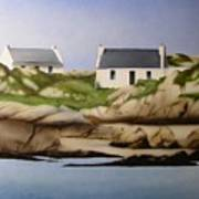 Island Cottages Poster