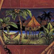 Island Night Poster