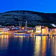 Island Of Vis Evening View Poster