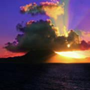 Island Sunrise Poster