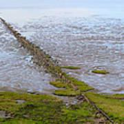 Island Sylt - Mudflat Poster by Marc Huebner