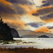 Islands Autumn Sky Poster