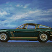 Iso Grifo Gl 1963 Painting Poster