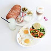 Israeli Breakfast Poster