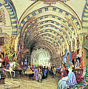 Istanbul Old Market Poster