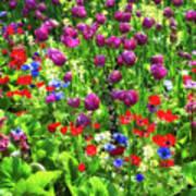 It Takes A Mix To Make A Garden Poster