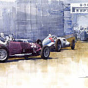Italian Gp1937 Livorno  Poster