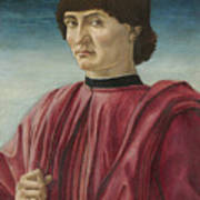 Italian Renaissance Portrait Painter Poster