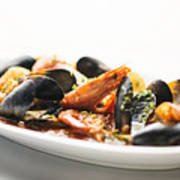 Italian Traditional Seafood Stew  Poster