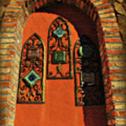 Italian Window Poster