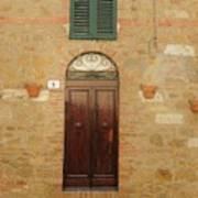 Italy - Door Twenty One Poster
