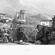 Italy: Tivoli, 1832 Poster