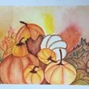 It's Pumpkin Time Poster