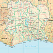 Ivory Coast Poster