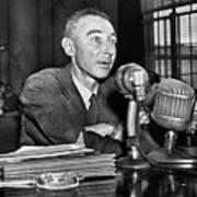 J. Robert Oppenheimer Poster