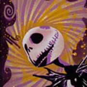 Jack Skellington Poster by Tai Taeoalii