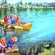Jackson Lake Poster