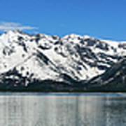 Jackson Lake Teton Panorama Poster