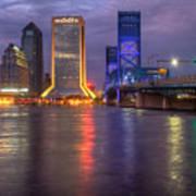Jacksonville At Dusk Poster