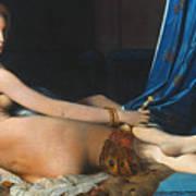 J.a.d. Ingres: Odalisque Poster by Granger