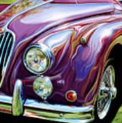 Jaguar 140 Coupe Poster by David Kyte