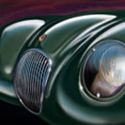 Jaguar C Type Poster by David Kyte