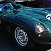 Jaguar D Type Poster