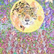 Jaguar Night Poster
