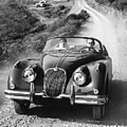 Jaguar Xk 150 Drophead Coupe Poster