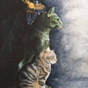 Jake And The Ancestors-pet Portrait Poster