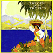 Jamaica, The Gem Of Tropics Poster