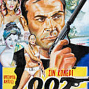 James Bond Dr.no 1962 Poster
