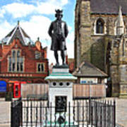 James Boswell Statue - Lichfield Poster