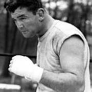 James Braddock In Training For Upcoming Poster by Everett