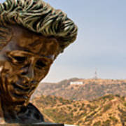James Dean - Griffith Observatory Poster