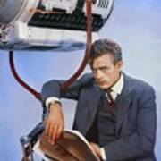 James Dean On Set Poster